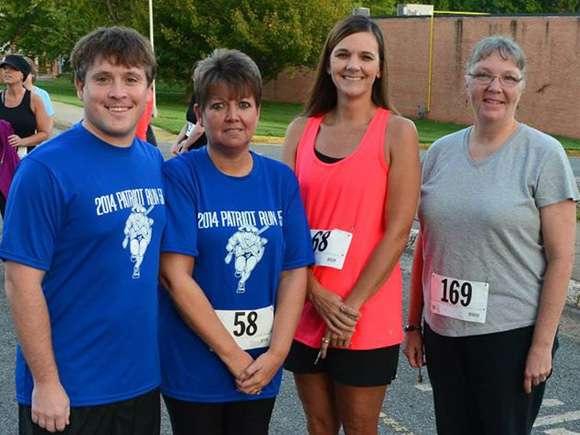 Ninety-seven walkers and runners participated in the event.