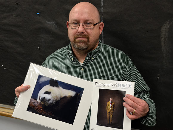Two photography students at Isothermal Community College recently earned honors for their work.