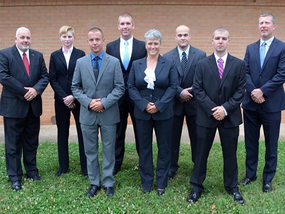 Six students recently graduated from the Basic Law Enforcement Training (BLET) program at Isothermal Community College after completing nearly ten months of training.