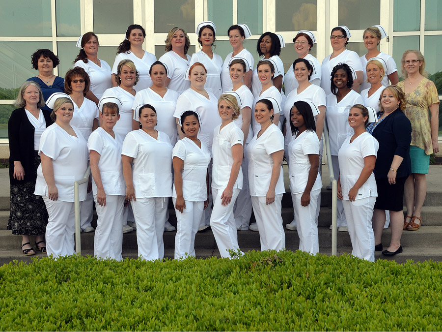 Twenty-seven Isothermal Community College practical nursing students were awarded their caps and pins at a special ceremony recently.