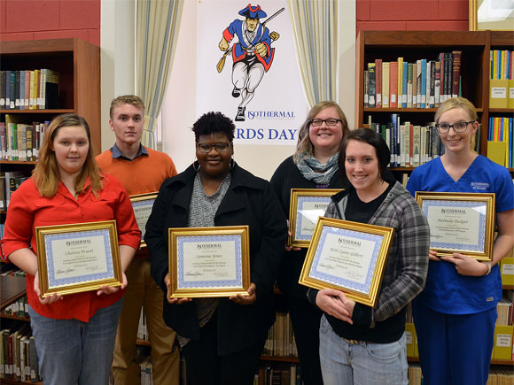 Isothermal Community College officials recently gave special recognition to 13 students.